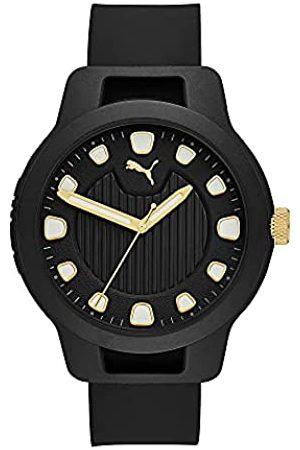 PUMA Herren Reset V1 Three-Hand, Polycarbonate Uhr