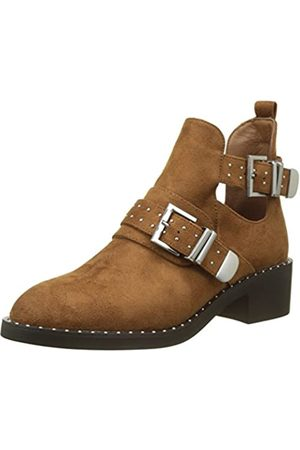 Pimkie Damen Crs18 Studcutboots Biker Boots, (Camel)