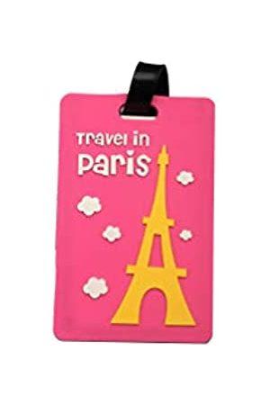 Le Chi Herren Reisetaschen - Gepäckanhänger – zarte Gepäcktasche für Damen und Herren zum Finden in der Zeit (2 Stück)