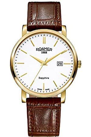 Roamer Herren-Armbanduhr Classic Line Analog Quarz 709856 48 25 07