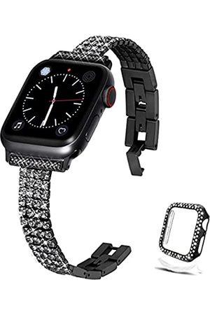Xybuluerq Kompatibel mit Apple Watch Band 38 mm 40 mm 42 mm 44 mm + Hülle