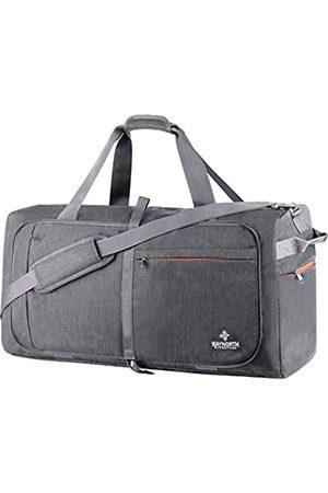 Waynorth 65L Reisetasche für Damen Herren Faltbare Weekender Tasche Sport Gym Bag Wasserdicht Reißfest