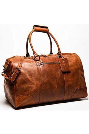 HIDES Reisetasche, 56 cm, Vollnarbenleder, Reisetasche