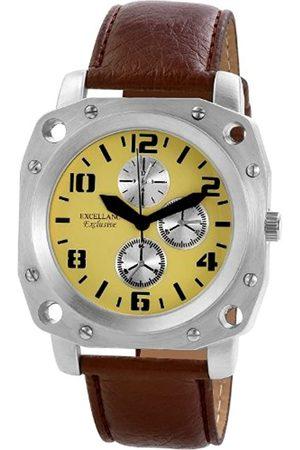 Excellanc Herren-Uhren mit Polyurethan Lederband 292227500002