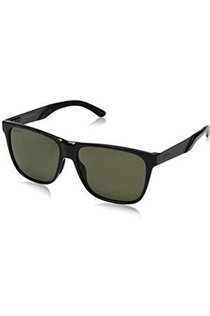 Smith Unisex LOWDOWNSTEEL XL Sonnenbrille, Negro/Chromapop Polarizado Gris Verde