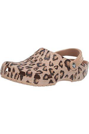 Crocs Unisex Men's Women's Classic Animal Zebra and Print Shoes Clog, Leopard/
