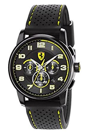 FERRARI STORE Herren-Armbanduhr XL Analog Quarz Silikon 830061