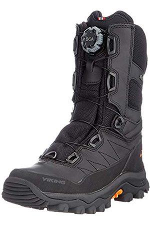 Viking Unisex-Erwachsene Villrein II Boa GTX Walking-Schuh, Black/Rust