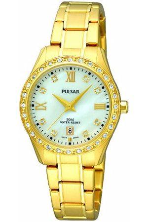 Pulsar Damen-Armbanduhr XS Analog Quarz Edelstahl PH7212X1