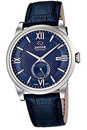 Jaguar UhrenmodellJ662/7ausderACAMAR-Kollektion425mmblauesGehäusemitdunkelblauemLederarmbandfürHerrenJ662/7