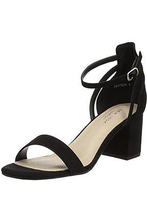 New Look Damen Values Peeptoe Pumps, (Black 1)