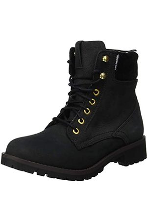 Ichi Damen A MURIE FW Combat Boots, (Black 10011)