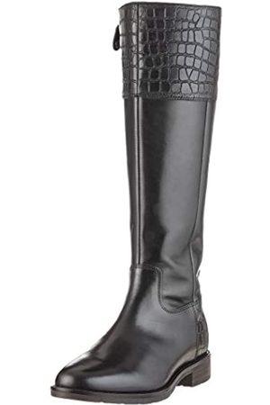 Geox Damen D BETTANIE E Hohe Stiefel, (Black C9999)