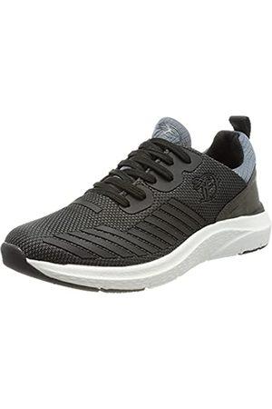 TOM TAILOR Herren 1185304 Sneaker, Black