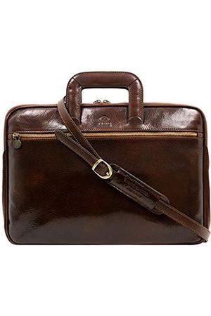 Time Resistance Herren Laptop- & Aktentaschen - Leder Aktentasche Herren 13 in Laptoptasche Arbeitstasche Bürotasche Ledertasche Aktentasche Umhängetasche Lehrertasche Businesstasche - …