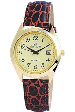Classique Uhren - Unisex Analog Quarz Uhr mit Leder Armband RP1240460001