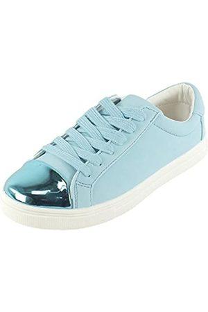 Ichi Damen A LINA FW Sneaker, (Faded Denim)