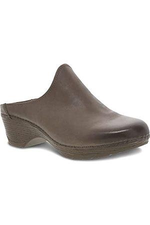 Dansko Damen Melody Slip-On Mule - Komfort Schuhe, (taupe)