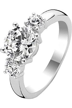 Ti Sento Milano Ring aus rhodiniertem Sterlingsilber - Größe 50 (16mm)