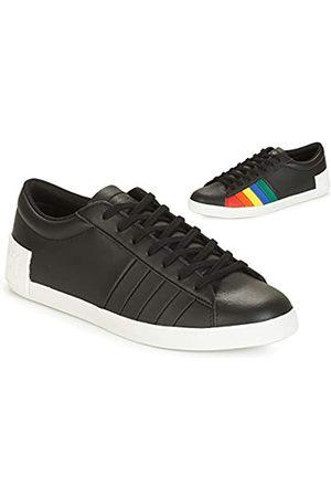 Le Coq Sportif Damen Flag Sneaker, (Black/Multicolor Black/Multicolor)