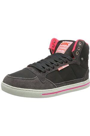 British Knights Douglas B33-3642 Damen Sneaker, (dk.Grey/Fuchsia 1)