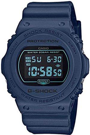 Casio Herren Uhren - Herren Digital Quarz Uhr mit Resin Armband DW-5700BBM-2ER