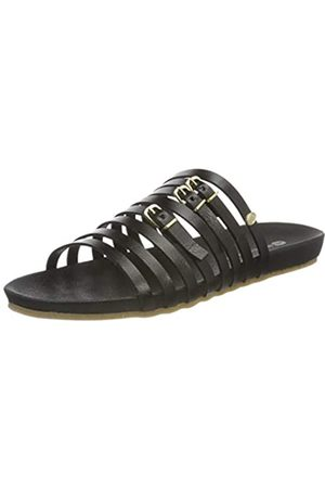 Fred de la Bretoniere Damen FRS0385 Flat Sandal, Black
