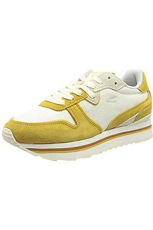 Camel Active Damen Fog Sneaker, Yellow/Off White