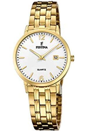 Festina Damen Uhren - Damen Analog Quarz Uhr mit Edelstahl Armband F20514/2