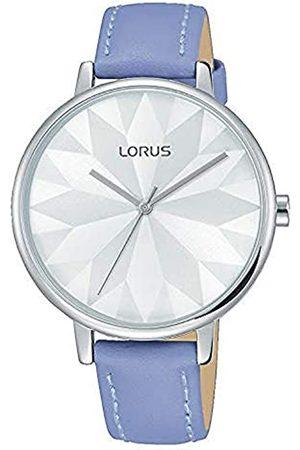 Lorus Fashion Damen-Uhr mit Palladiumauflage und Lederband RG297NX8