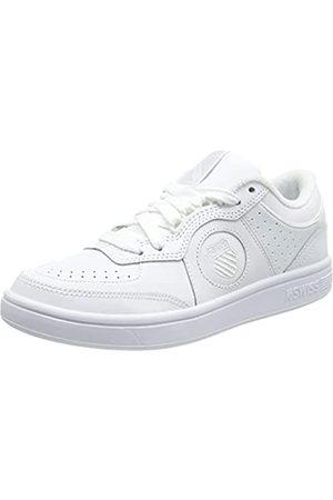K-Swiss Damen North Court Sneaker, White/White