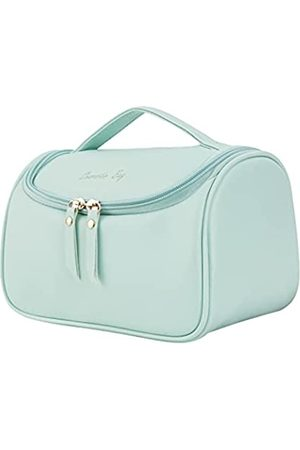 NUFR Koffer - Make-up-Tasche, Kosmetiktasche, Reise-Kosmetiktasche, Organizer, tragbare Aufbewahrungstasche, mit hoher Kapazität für Kosmetika, Make-up-Pinsel
