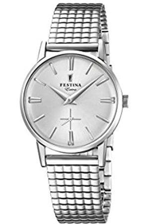 Festina Damen Analog Quarz Uhr mit Edelstahl Armband F20256/1