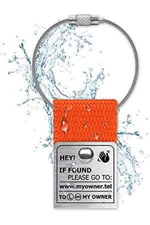NaviTagi Handtaschen - Wasserdichte Gepäckanhänger für Laptop und Reise, personalisierbar, mit ID-Nummer für Koffer, Handtaschen, Rucksäcke, Name