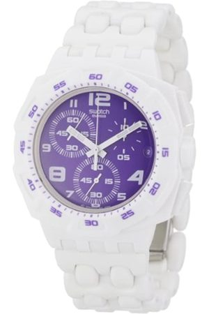 Swatch Unisex-Chronograph Purplepurity SUIW404