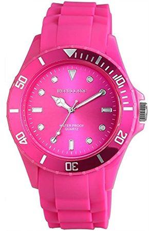 Excellanc Herren Analog Quarz Uhr mit Kautschuk Armband 224923800004