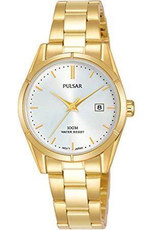 Pulsar Quarz Damen-Uhr Edelstahl mit Metallband PH7476X1