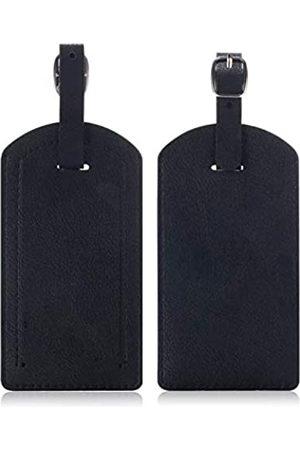 EpicGadget Reisetaschen - Gepäckanhänger, Reisetasche aus PU-Leder mit Sichtschutz