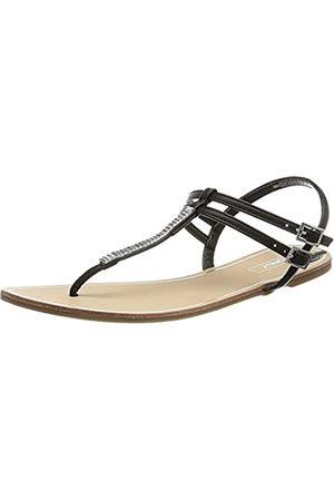 ONLY Damen ONLMARGIT-9 PU Split Toe Sandale, Black