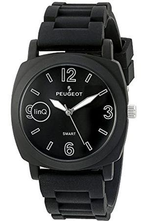 PP Peugeot Peugeot linQ Sport Bluetooth Smart verbunden mit Handy Gummi Uhr