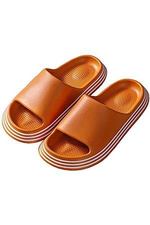 VETASTE Unisex Kissen Slides Super Soft Home Slippers Rutschfeste Dicke Sohle Schnell Trocken Dusche Slide Sandalen