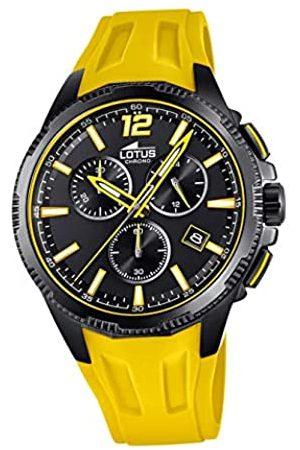 Lotus Herren Uhren - Herren Analog Quarz Uhr mit Kunststoff Armband 18591/4