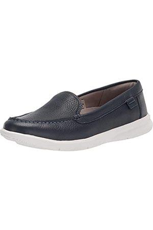 Rockport Damen Ayva Washable Loafer Flacher Slipper, Waschbares Indigo-Leder
