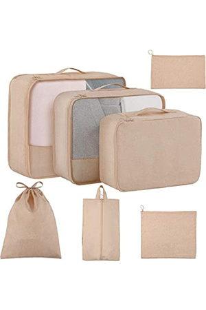 TuTuShop Reisetaschen - Packwürfel für Reisen, 7-teiliges Set