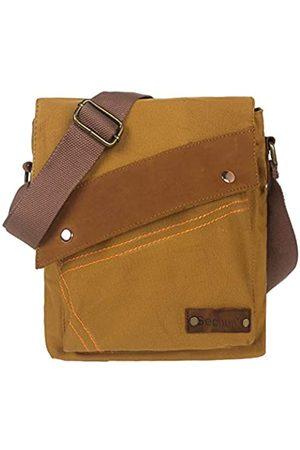 Zuzin Messenger Bag für Damen und Herren Retro Canvas Schultertasche Satchel Klassische Crossbody Taschen