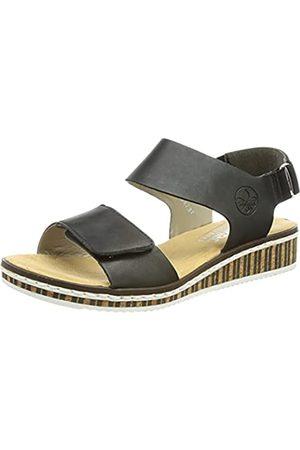 Rieker Damen V3680 Sandale