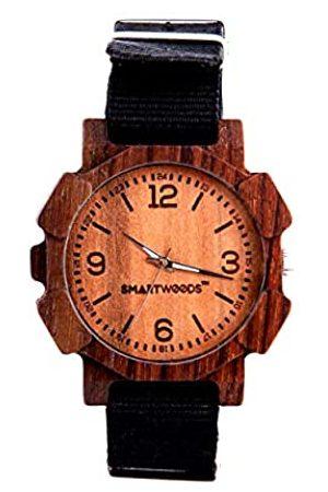 SmartWoods Unisex Erwachsene Analog Quarz Uhr mit Nylon Armband 5902706211115