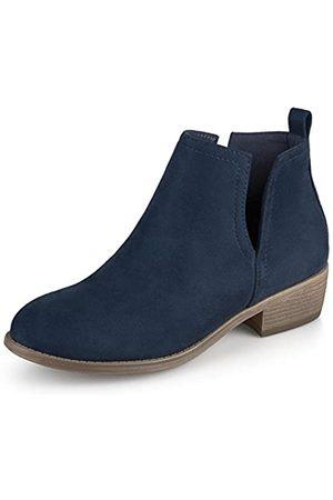Journee Collection Schuhe Faux Wildleder Damen Stiefel