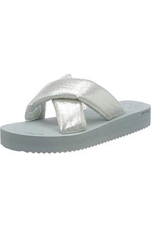 flip*flop Damen Plateau Chic Sandalen, lt Grey/Silver