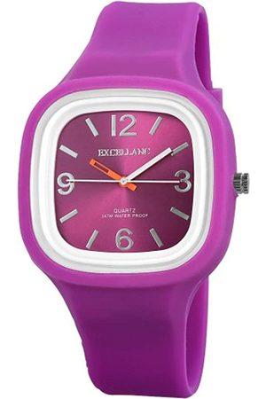 Excellanc Herren-Uhren mit Silikonband 225683800007